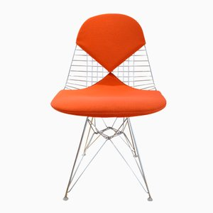 Mid-Century Bikini Stuhl aus Draht von Charles & Ray Eames für Vitra