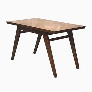 Tavolo da pranzo in teak di Pierre Jeanneret, anni '60