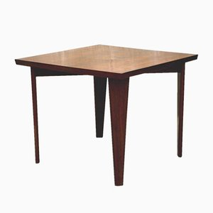 Indian Square Table by Pierre Jeanneret, 1959