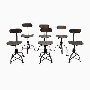 Modell 204 Stühle von Bienaise, 1952, 6er Set