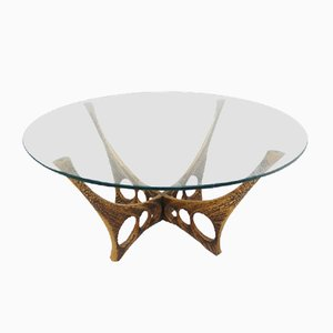 Brutalist Belgian Coffee Table by Willy Ceysens, 1961