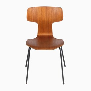 Hammer 3103 Teak Chair by Arne Jacobsen for Fritz Hansen, 1960s