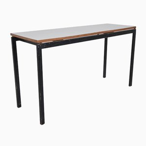 Metal, Wood, and Formica Cansado Work Table by Charlotte Perriand, 1958