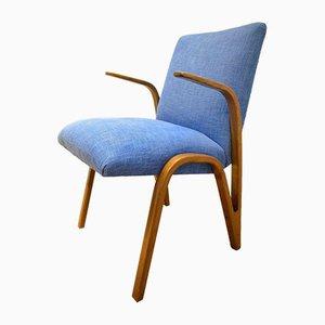 Deutscher Lounge Armlehnstuhl von Paul Bode für Deutsche Federholzgesellschaft, 1955