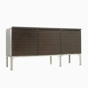 Macassar Ebony Wood Sideboard by Raymond Loewy for DF 2000