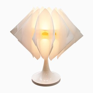 White Danish Table Lamp
