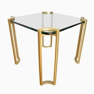 German Brass Coffee Table, 1970s