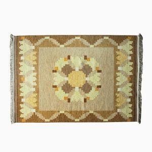 Mid-Century Rölakan Flat Weave Carpet by Ingegerd Silow