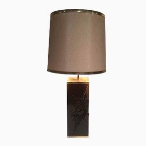 Lámpara de mesa Mid-Century de Maison Charles, años 70