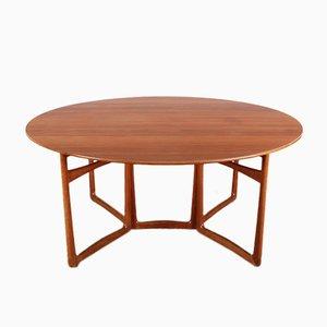 Table de Salle à Manger Pliable 20/59 Mid-Century Moderne en Teck par Hvidt et Mølgaard Nielsen