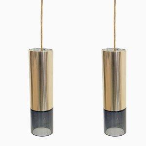 Lámparas colgantes noruegas de Kjell Munch para Sønnico, años 60. Juego de 2
