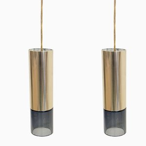 Norwegian Ceiling Pendants by Kjell Munch for Sønnico, 1960s, Set of 2