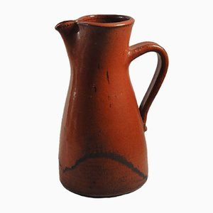 Red Jug by Edouard Chapallaz for Duillier Switzerland