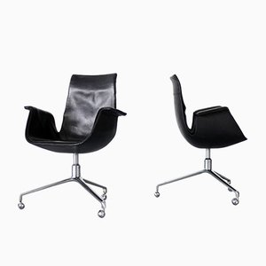 Bird Chairs by Preben Fabricius and Jorgen Kastholm for Kill International, Set of 2