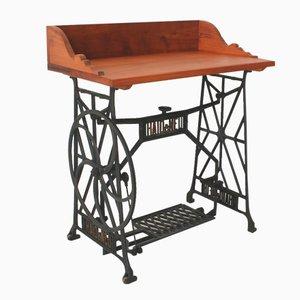 Mesa de costura vintage de cerezo, años 30