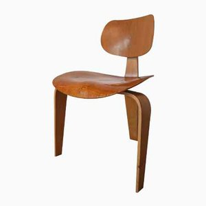 German Honey Wood Chair by Egon Eiermann for Wilde & Spieth, 1957