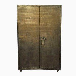 Caja fuerte británica antigua, años 50