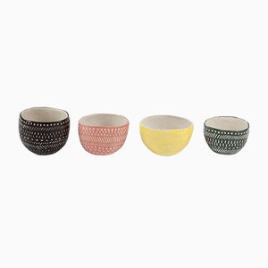 Skep Color Mugs par Atelier KAS, Set de 4