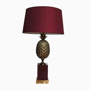 Lámpara de mesa Mid-Century con piña de Mauro Manetti