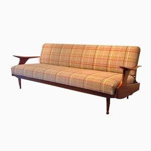 Sofá cama inglés de Greaves and Thomas, años 60