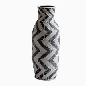 Deep Zig Zag Vase by Dana Bechert