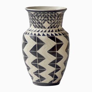 Woven Zig Vase von Dana Bechert