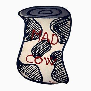 Tapis Mad Cow par Henry Kalam