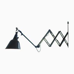 Große Deutsche 112 Scheren Lampe von Curt Fischer für Midgard