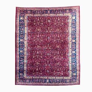 Antiker Indischer Agra Teppich, 1920er