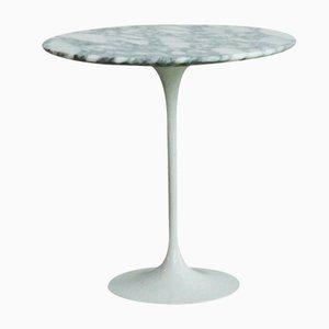 Italienischer Säulentisch aus Arabescato Marmor von Eero Saarinen für Knoll, 1970