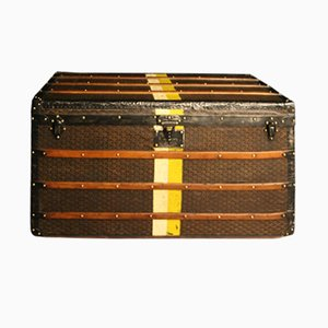 Extra Large Steamer Trunk from Goyard, 1920s
