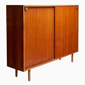 Rosewood High Sideboard by Alfred Hendrickx for Belform, 1968