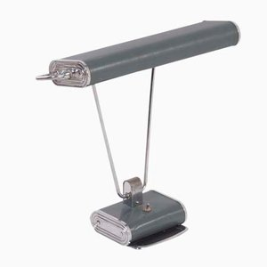 Lámpara de escritorio Art Déco de Eileen Gray para Jumo, años 30