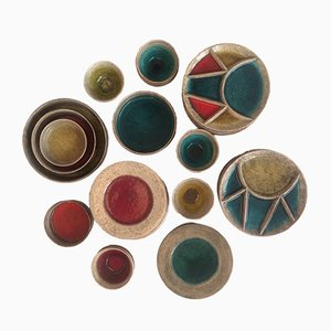 Conjunto de cerámica suizo de Hugo Kohler