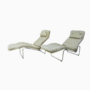 Swedish Kroken Lounge Chairs by Christer Blomquist for Ikea, 1970s, Set of 2