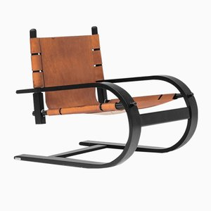 Italian Lounge Chair from Poltronova, 1970s