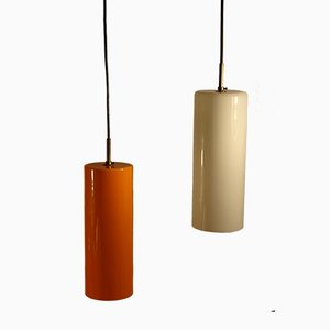 Double Glass Pendant by Paolo Venini for Indoor, 1955