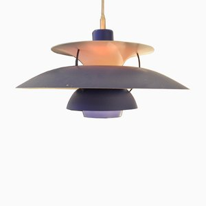 Lampe à Suspension PH5 par Poul Henningsen pour Louis Poulsen, 1970s