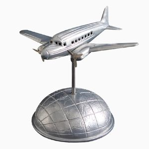 Art Deco DC3 Aircraft Lamp, 1970s