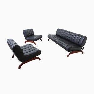 Österreichisches Independence Sofa- Set mit Schlaffunktion von Karl Wittmann, 1968, 3er Set