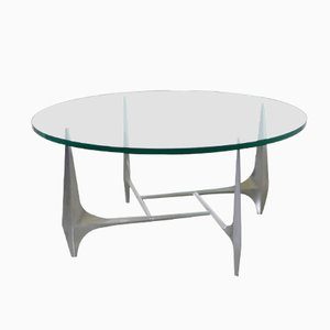 Table Basse Sculpturale par Knut Hesterberg pour Ronald Schmitt, Allemagne, 1960s