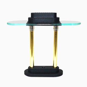 Lámpara de mesa vintage de Robert Sonneman para George Kovacs, años 80