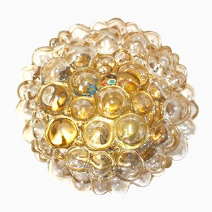 Bubble Glass Ceiling Light by Helena Tynell for Glashütte Limburg