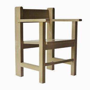 Chaise d'Ecole Bossche Modernise par Gerard Wijnen