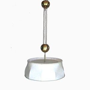 Lámpara Bullet Train austriaca de J. T. Kalmar, años 60