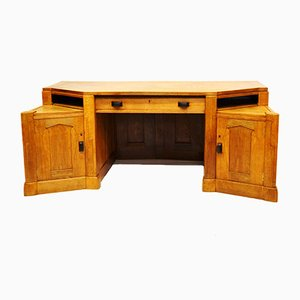 Large Dutch Art Deco Writing Desk, 1920s