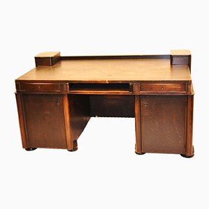 Amsterdam School Writing Desk by Hildo Krop, 1920s