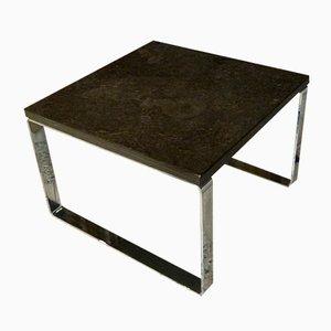 Table Basse Primus 1062 Mid-Century Schiste Bitumeux de Draenert