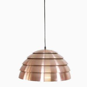 Lampe à Suspension en Cuivre par Hans Agne Jakobsson pour Hans Agne Jakobsson AB, Markaryd, Suède, 1960s