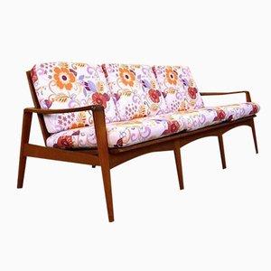 Dänisches Mid-Century Drei-Sitzer Sofa von Arne Wahl Iversen für Komfort
